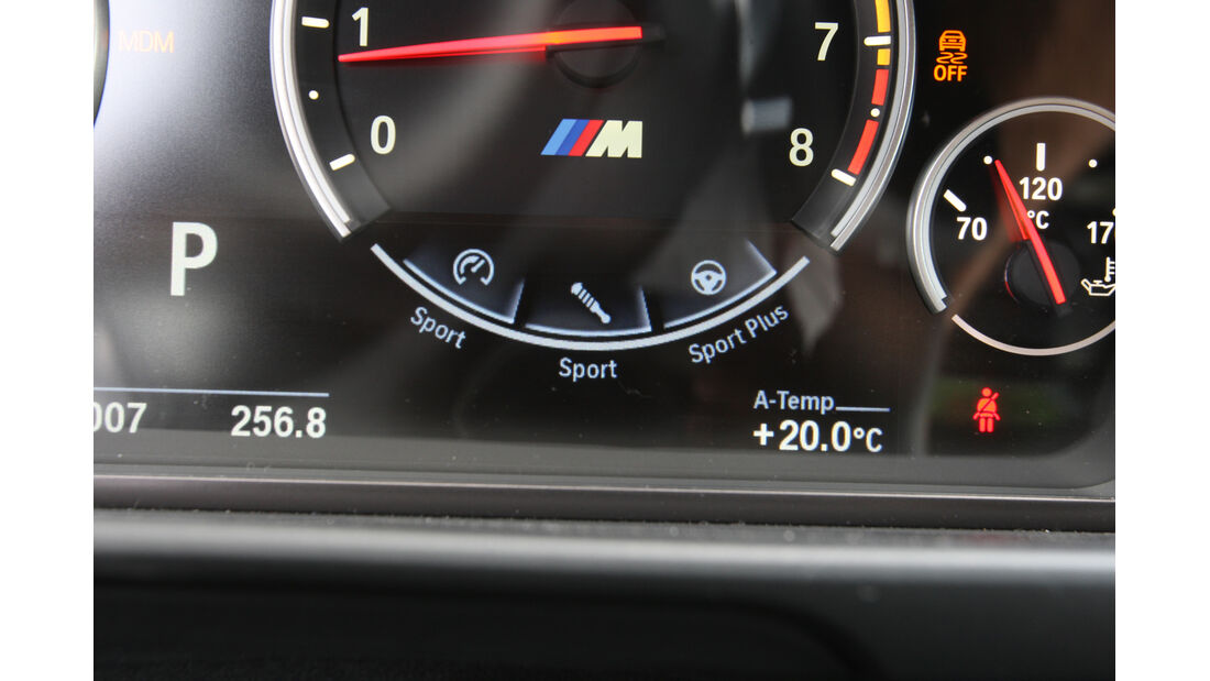 BMW M5, Drehzahlmesser