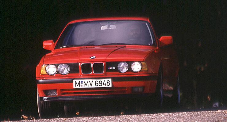 BMW M5 (E34): Der letzte M5 mit Reihensechszylinder - auto motor und ...