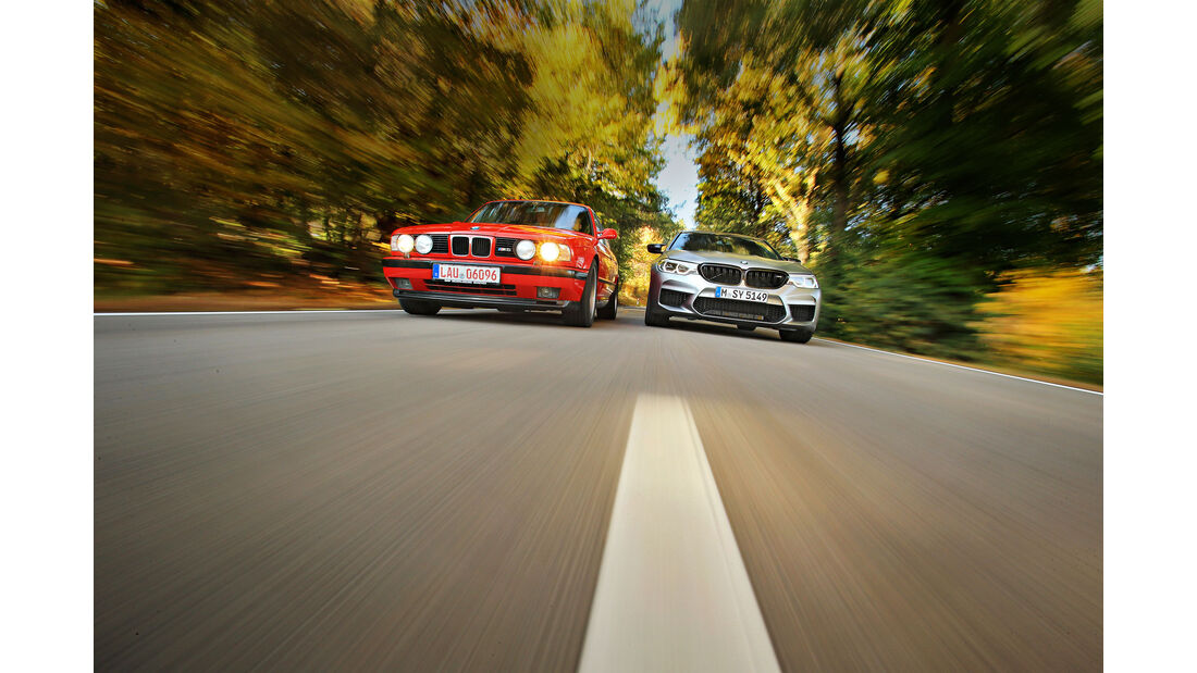 BMW M5 E34 20 Jahre Motorsport - BMW M5 Competition - sport auto 1/2019