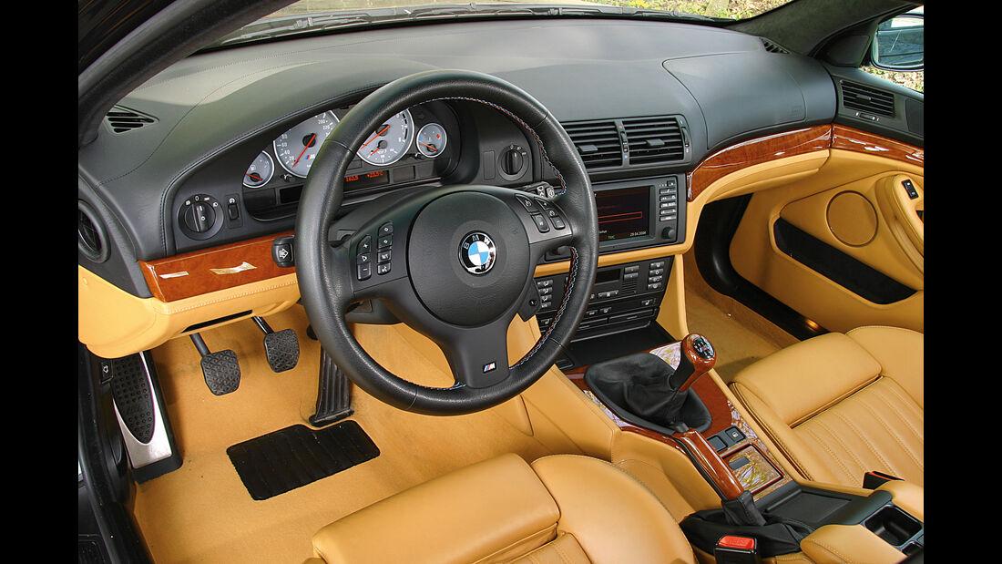 BMW M5 E39, Cockpit