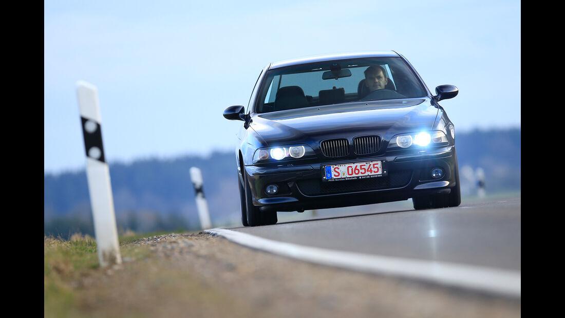 BMW M5 E39, Frontansicht