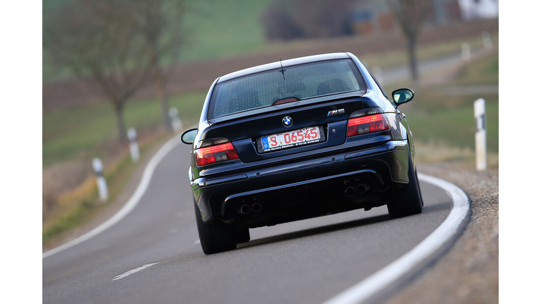 BMW M5 E39, Heckansicht