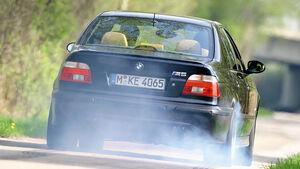 BMW M5 E39, Heckansicht, Kavalierstart