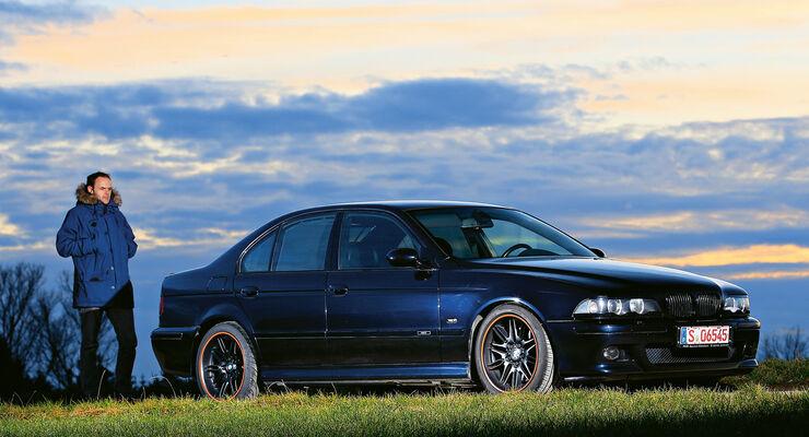 BMW M5 E39, Seitenansicht