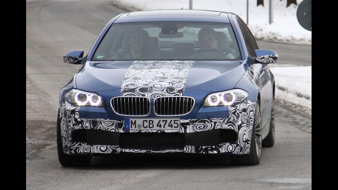 BMW M5 Erlkönig