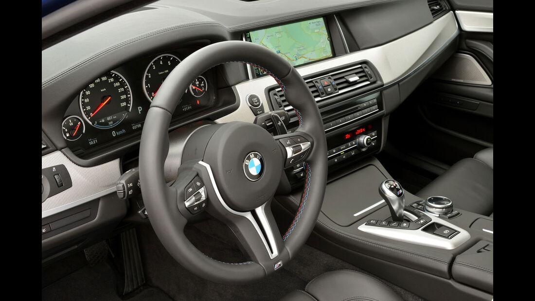 BMW M5 F10 (Competition Paket / 2013) -  Cockpit