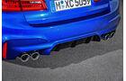 BMW M5 F90 - Business-Limousine - Heck - Diffusor - Endrohre