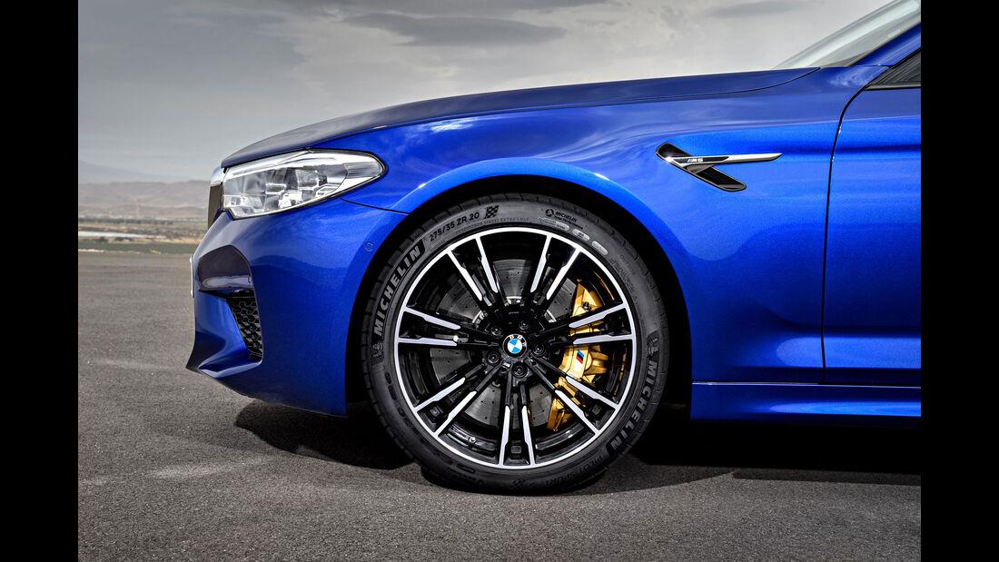 BMW M5 F90 - Business-Limousine - Räder