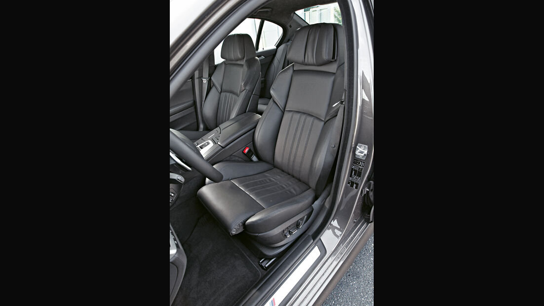 BMW M5, Fahrersitz