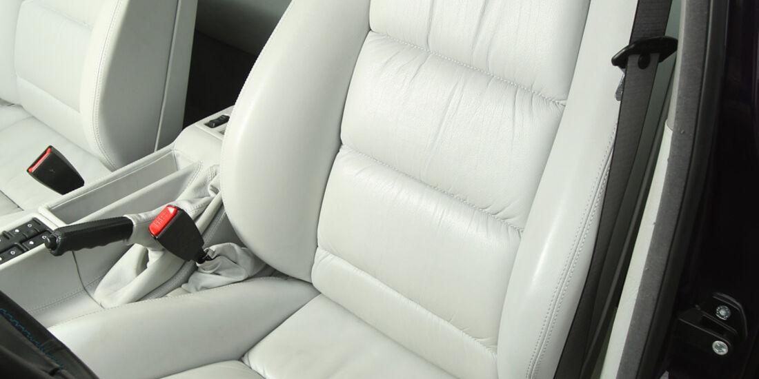 BMW M5, Fahrersitz, Ledersitz