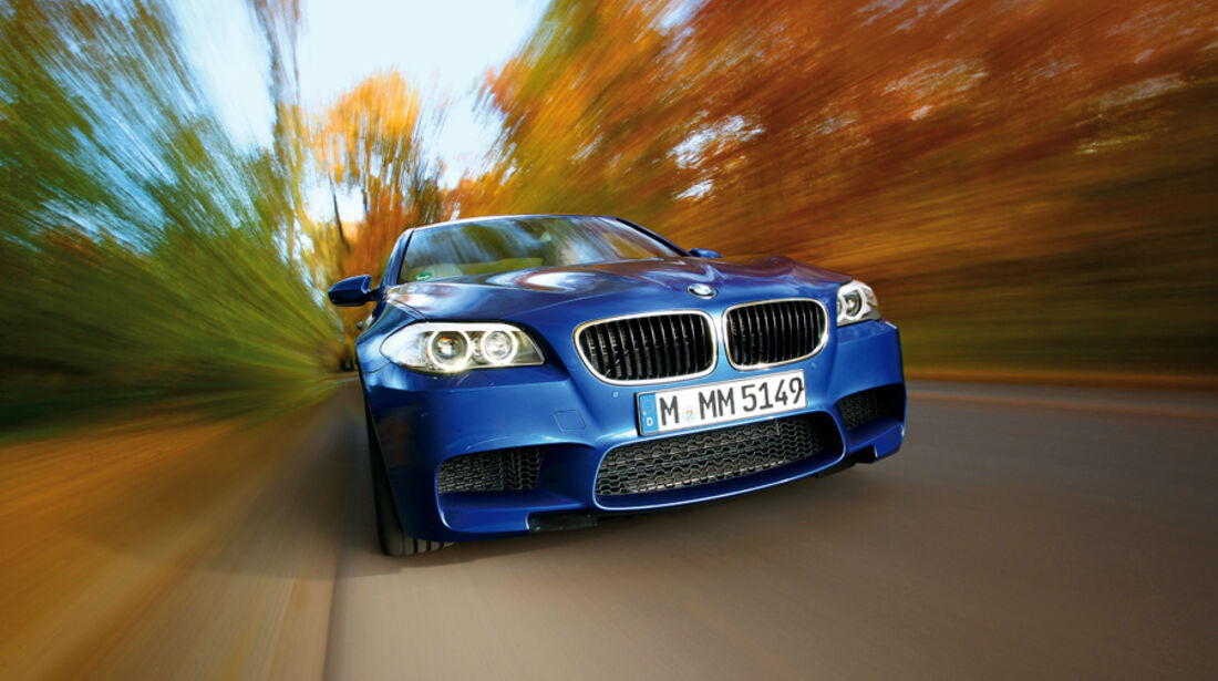 BMW M5, Front, Kühlergrill