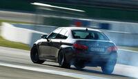 BMW M5, Heckansicht, Driften