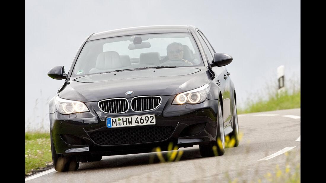 BMW M5, Jaguar XF-R