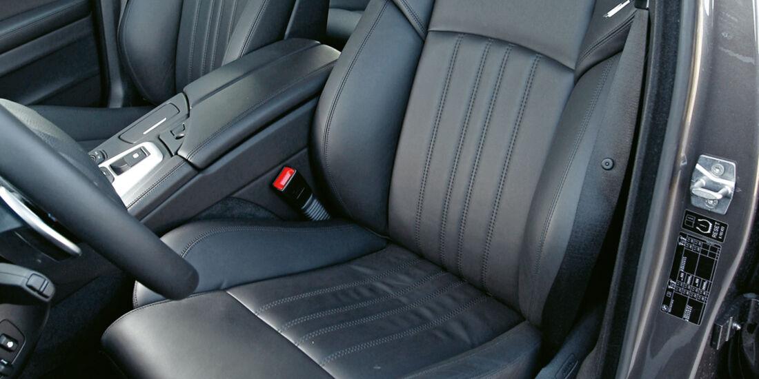 BMW M5, Ledersitz, Fahrersitz