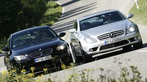 BMW M5, Mercedes CLS 63 AMG