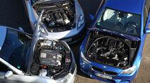 BMW M5, Mercedes E 63 AMG, Porsche Panamera, Motoren
