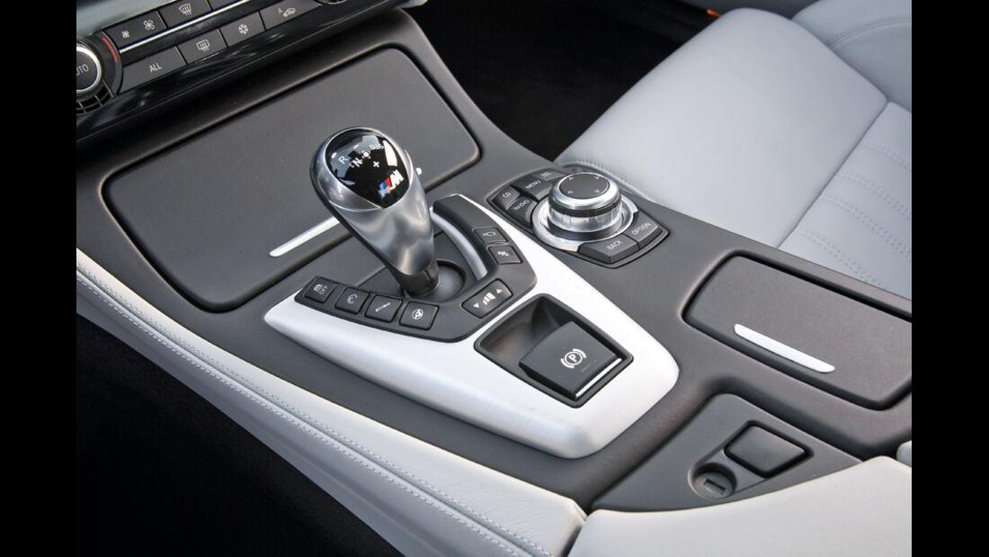 BMW M5, Mittelkonsole