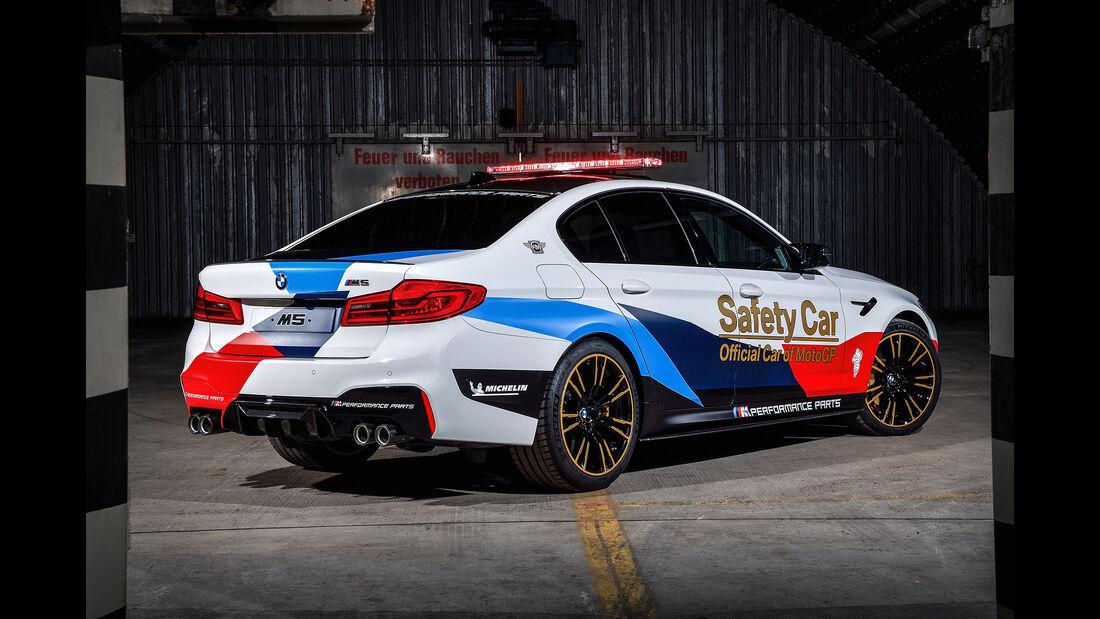 BMW M5 MotoGP Safety-Car 2017