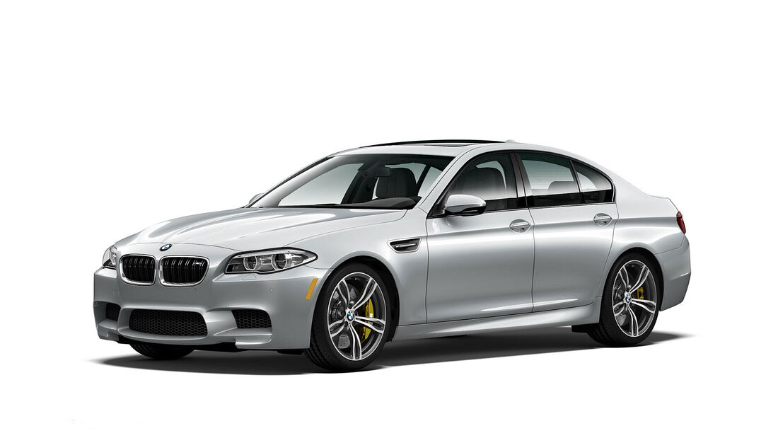 BMW M5 Pure Metal Silver Limited Edition Sondermodell USA