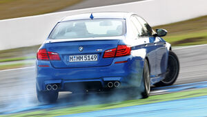 BMW M5, Querbeschleunigung