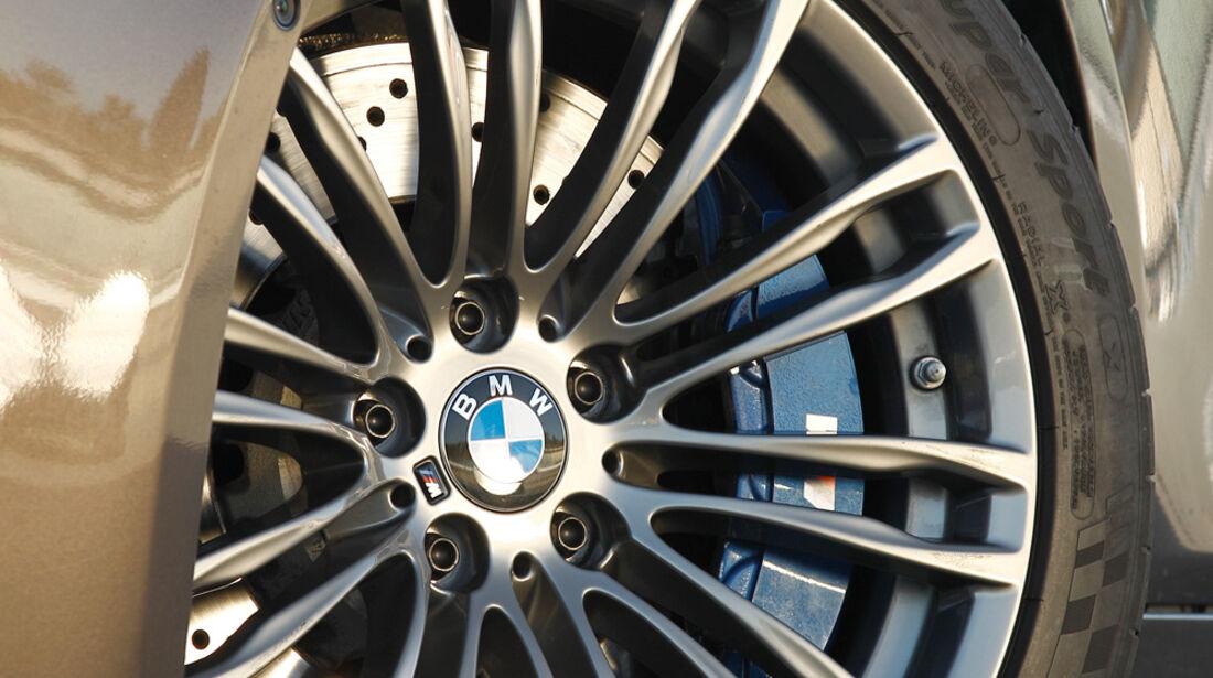 BMW M5, Rad Felge