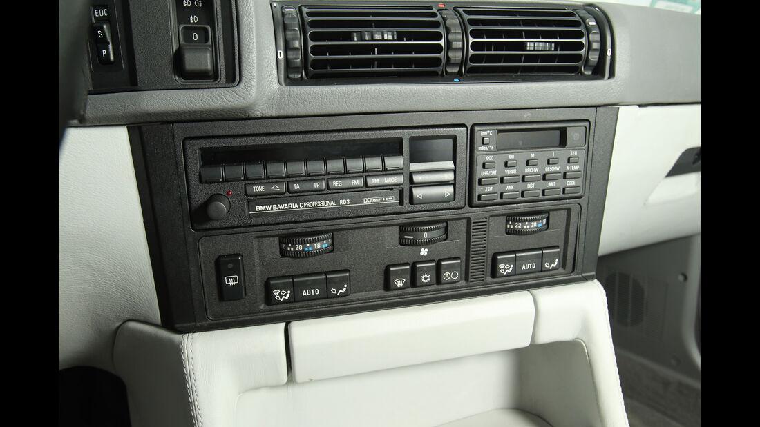 BMW M5, Radio, Mittelkonsole