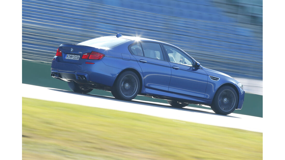 BMW M5, Seitenansicht