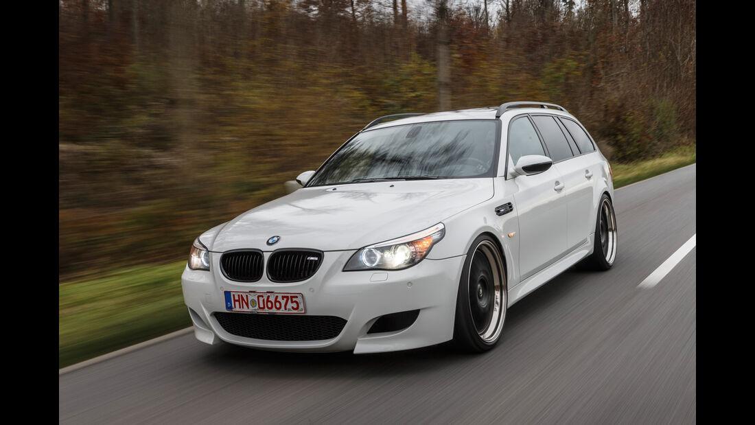 BMW M5 Touring, Frontansicht