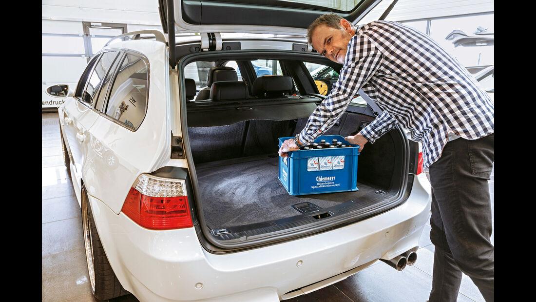 BMW M5 Touring, Kofferraum