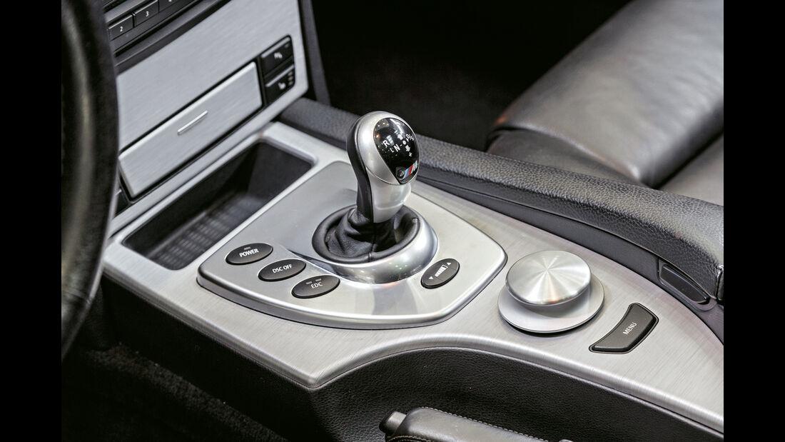 BMW M5 Touring, Schalthebel