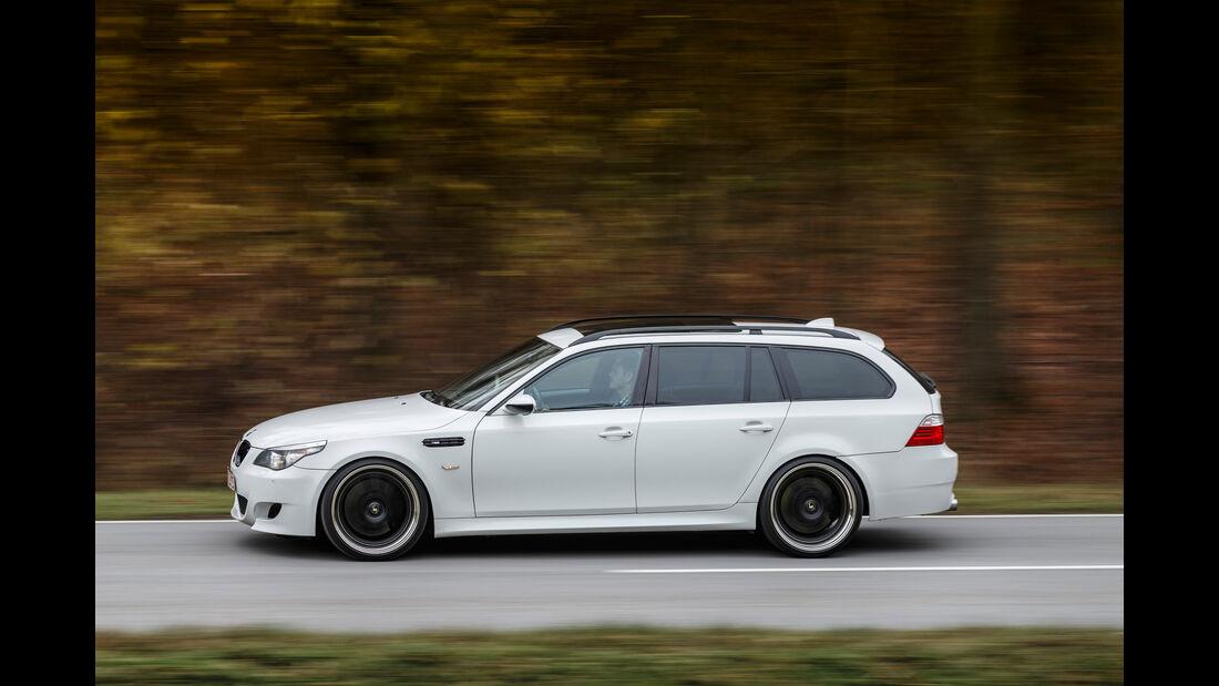 BMW M5 Touring, Seitenansicht