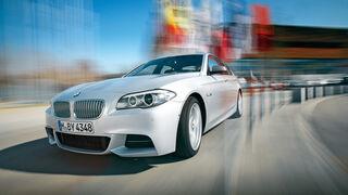 BMW M550d x-Drive, Frontansicht