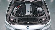 BMW M550d x-Drive, Motor, Motorraum