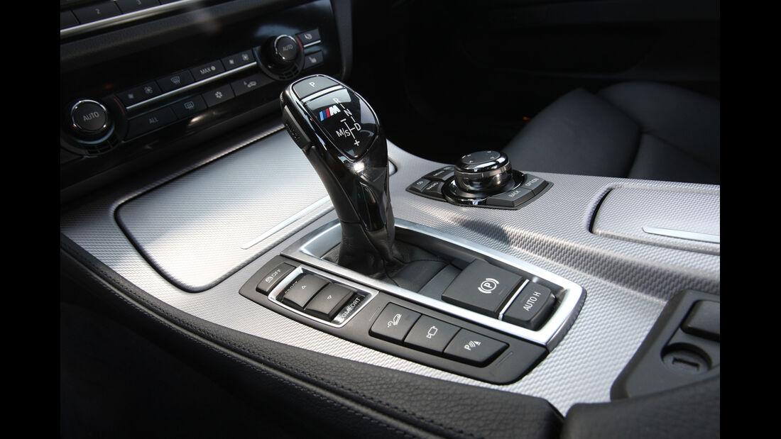 BMW M550d x-Drive, Schalthebel, Schaltknauf