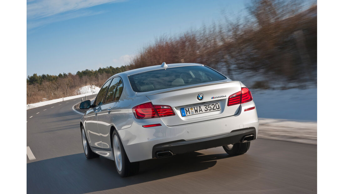 BMW M550d xDrive, Heck