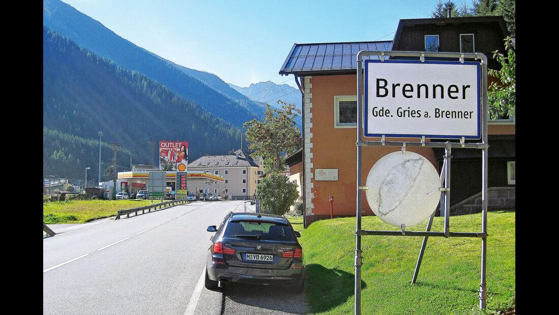 BMW M550d xDrive Touring, Brenner
