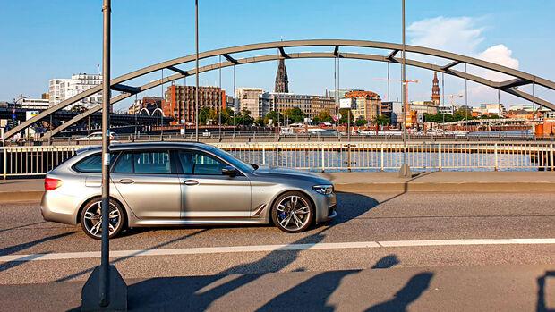 BMW M550d xDrive Touring, Exterieur