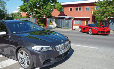 BMW M550d xDrive Touring, Front