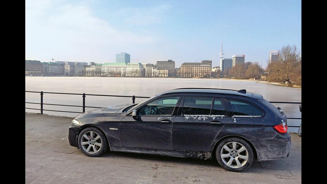 BMW M550d xDrive Touring, Hamburg