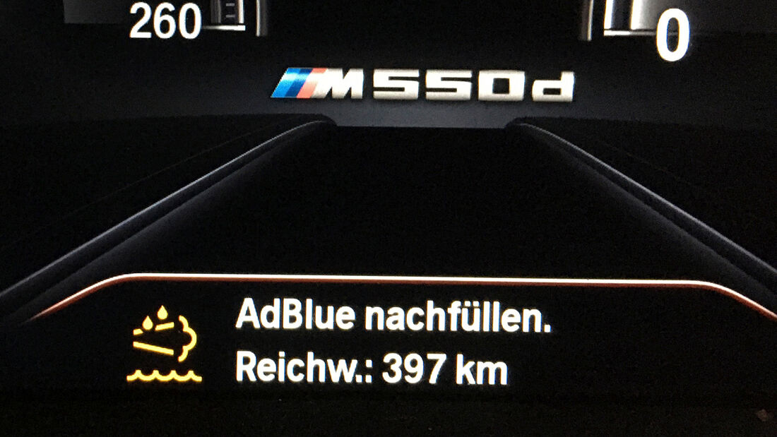 BMW M550d xDrive Touring, Interieur