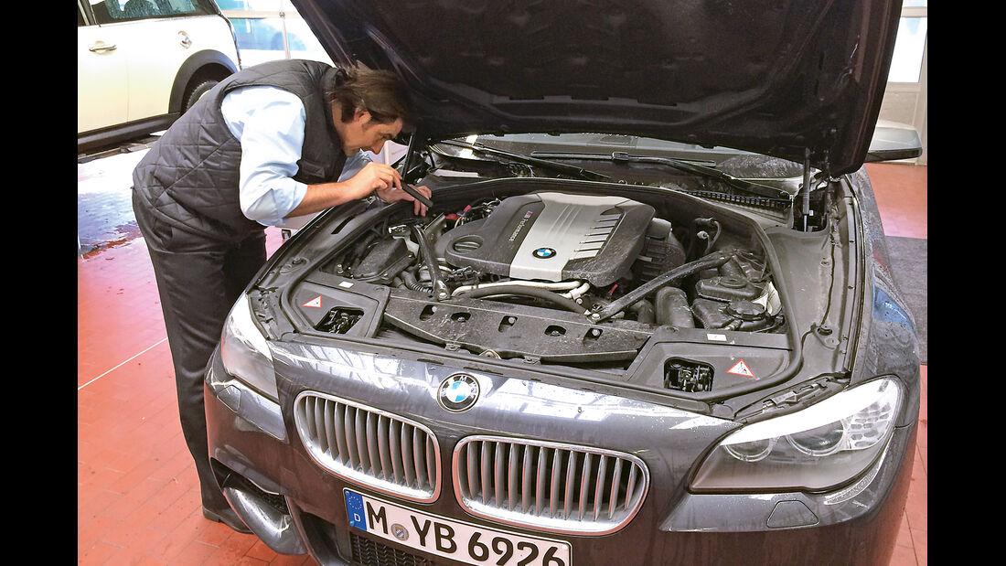 BMW M550d xDrive Touring, Motor