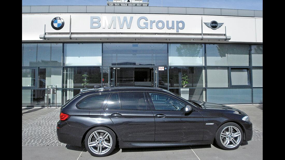BMW M550d xDrive Touring, München