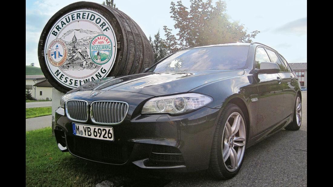 BMW M550d xDrive Touring, Nesselwang