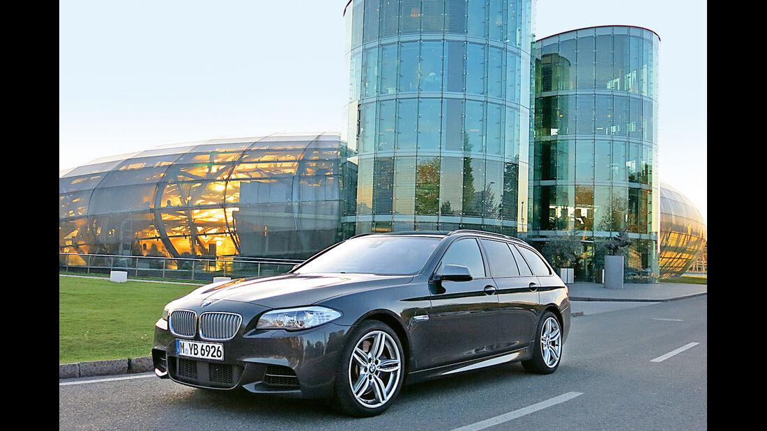 BMW M550d xDrive Touring, Seitenansicht