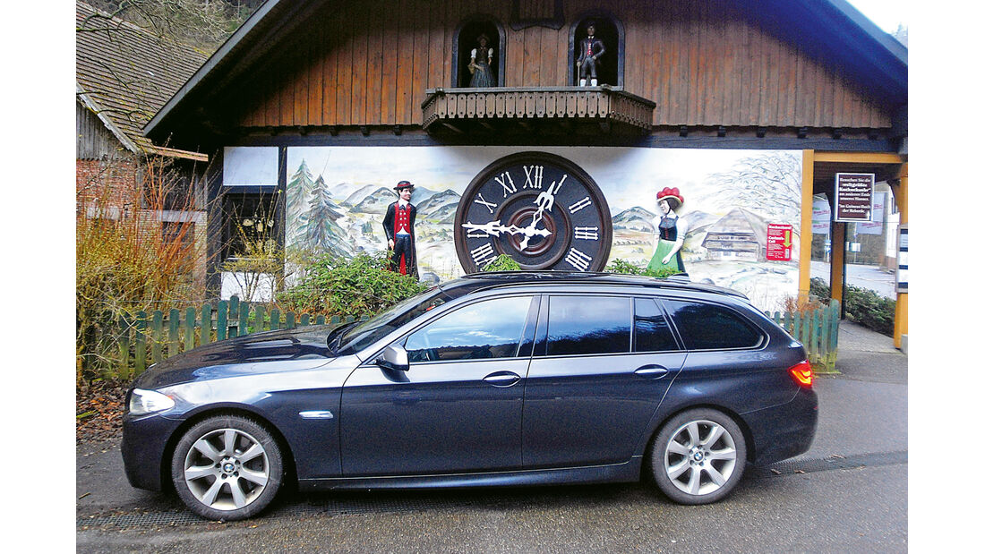 BMW M550d xDrive Touring, Triberg
