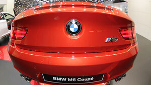 BMW M6 2012 Messe Genf