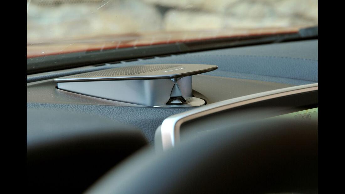 BMW M6, Armaturenbrett, Detail