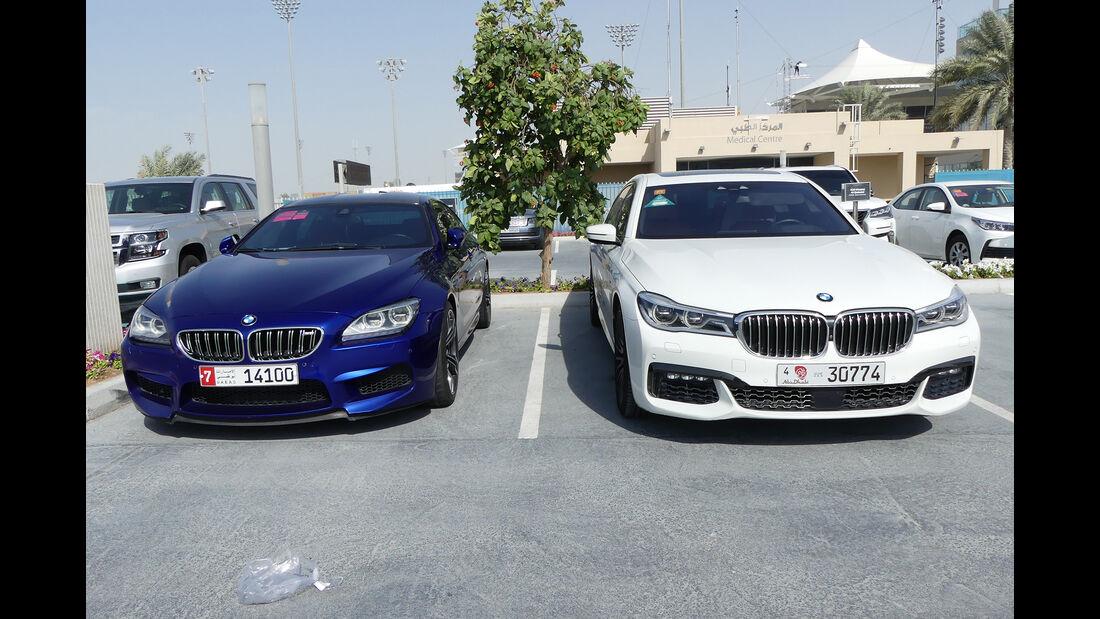 BMW M6 & BMW 7er - Carspotting - GP Abu Dhabi 2018