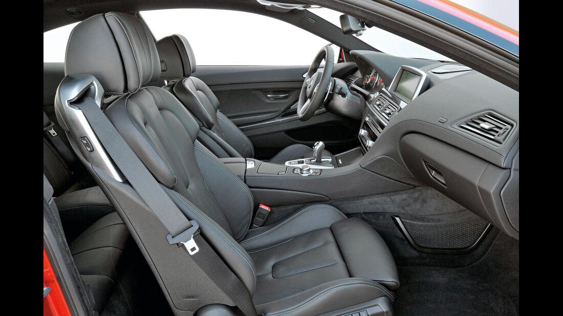 BMW M6, Beifahrerseite