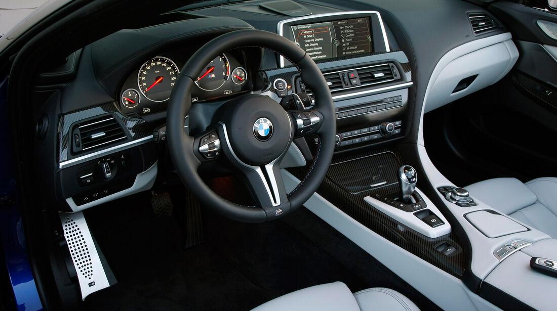 BMW M6 Cabrio, Cockpit, Lenkrad